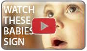 Watch these babies sign using baby sign language from sign2me