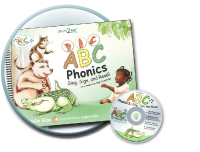 ABC Phonics: Sign, Sign, and Read! By Nellie Edge and illustrated by Gaelan Kelly